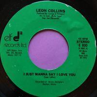 Leon Collins-I just wanna say-Elf E+