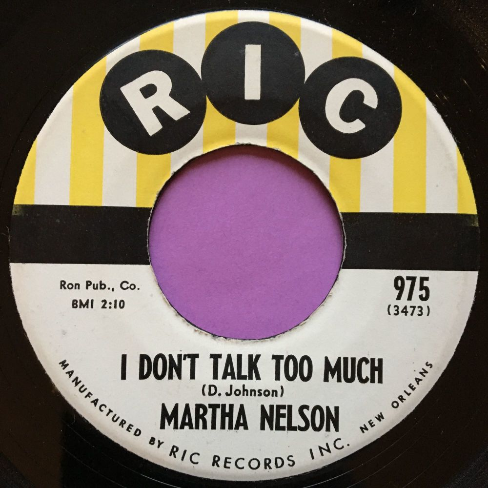 Martha Nelson-I don`t talk too much-Ric E+