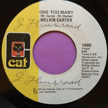 Melvin Carter-One too many-Cat wol E+