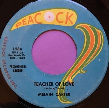 Melvin Carter-Teacher of love-Peacock M-