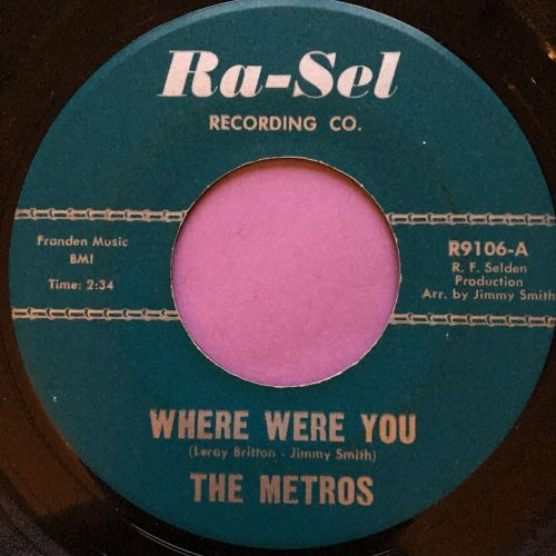 Metros-Where were you-Ra-sel E+