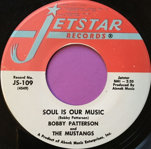 Bobby Patterson-Soul is our music-Jetstar E+