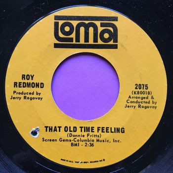 Roy Redmond-That old time feeling-Loma M-