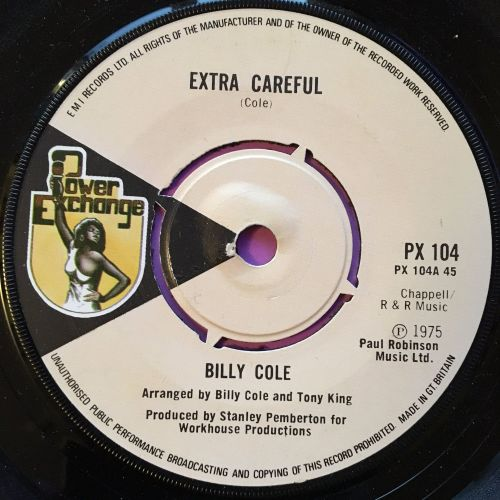 Billy Cole-Extra careful-Power exchange E+