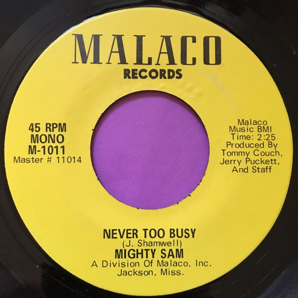 Mighty Sam-Never too busy-Malaco E+