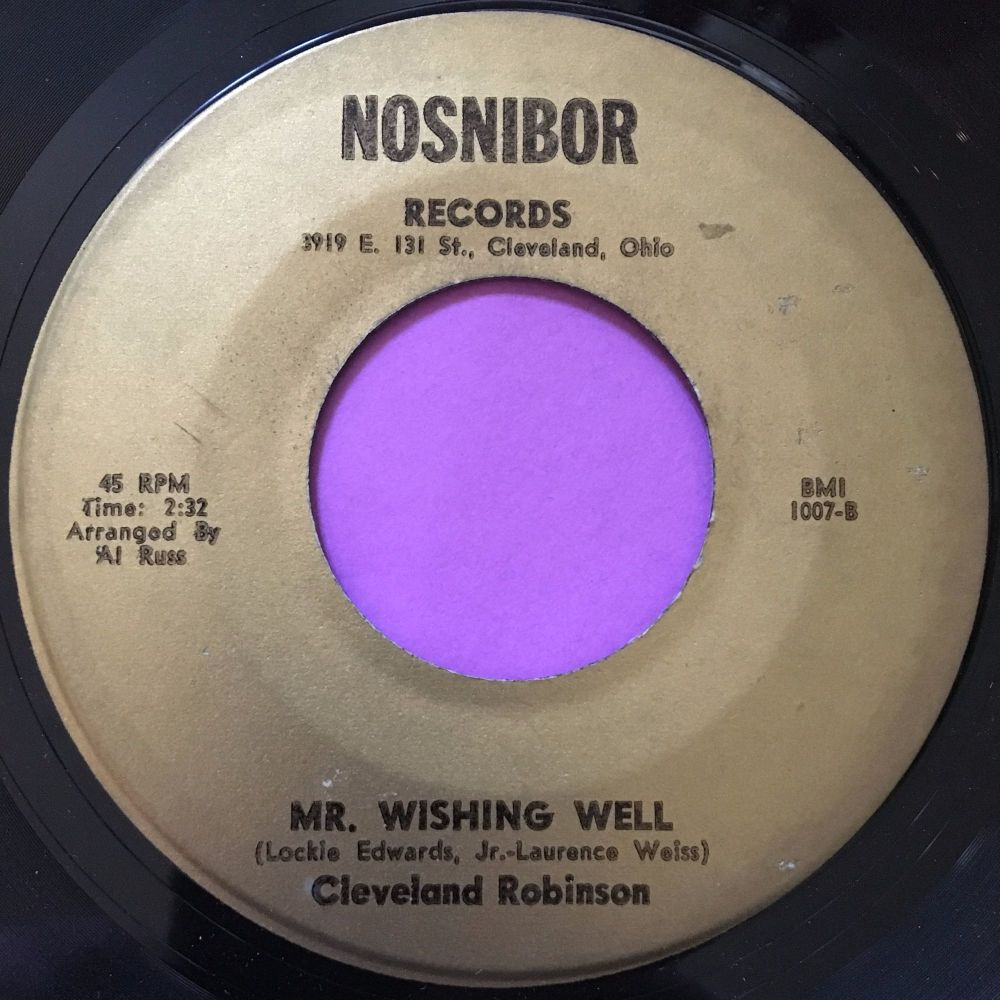 Cleveland Robinson-Mr Wishing well-Nosnibor E+