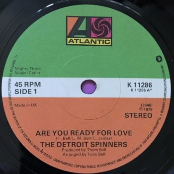 Detroit Spinners-Are you ready for love-UK Atlantic M-