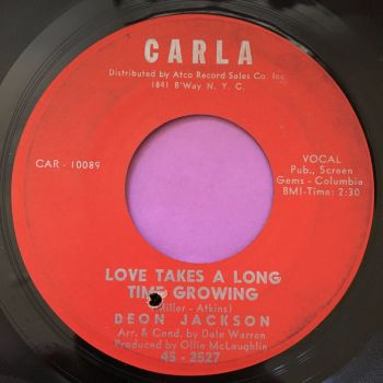 Deon Jackson_Love takes a long time growing-Carla E