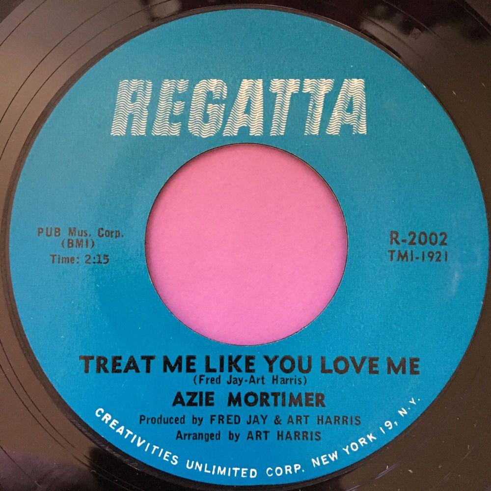 Azie Mortimer-Treat me like you love me-Regatta E+