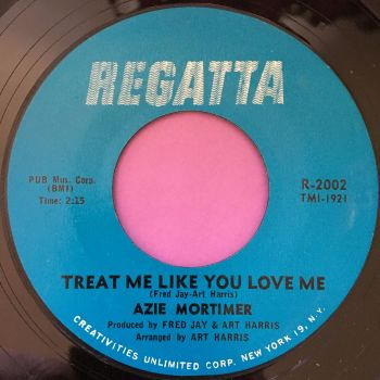 Azie Mortimer-Treat me like you love me-Regatta E+