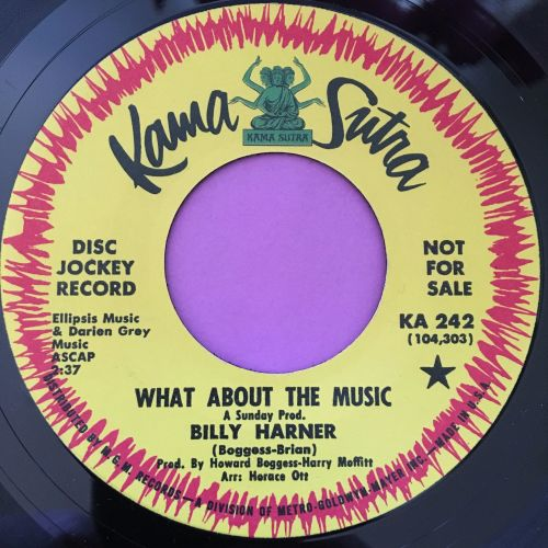 Billy Harner-What about the music E+
