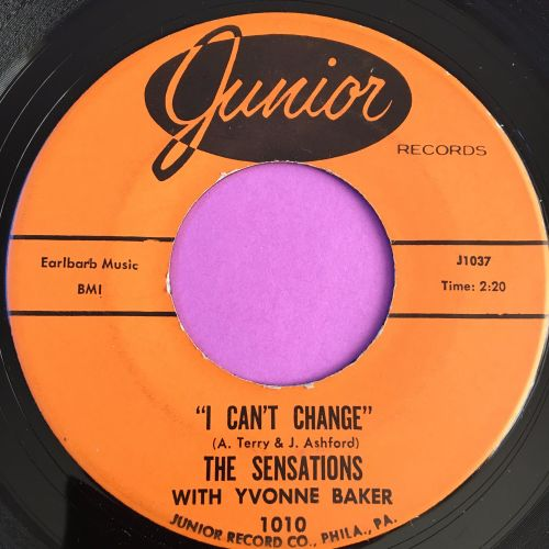 Yvonne Baker-I can't change/ Mend the torn pieces-Junior E