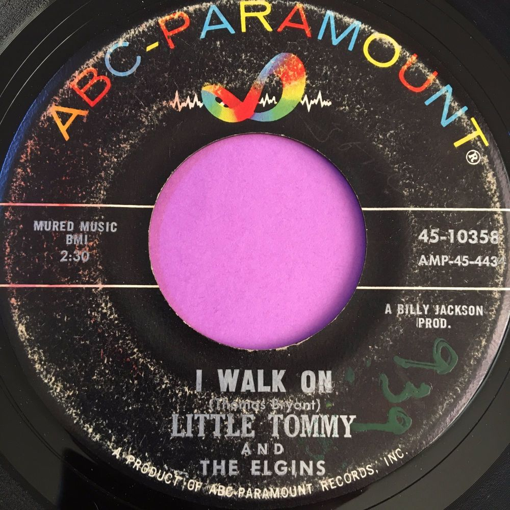 Little Tommy-I walk on-ABC vg+