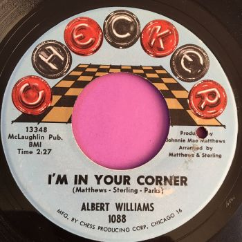 Albert Williams-I'm in your corner-Checker E