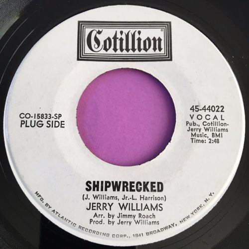 Jerry Williams-Shipwrecked-Cotillion WD E+