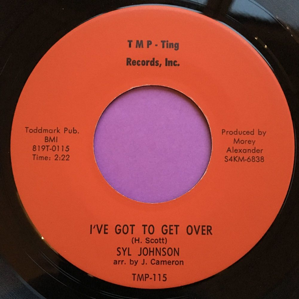 Syl Johnson-I've got to get over-TMP E+