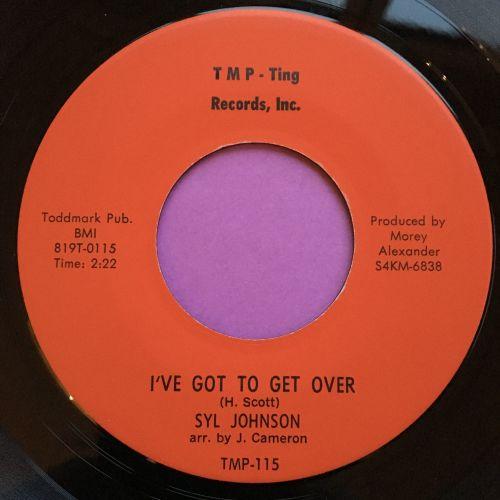 Syl Johnson-I've got to get over-TMP E+