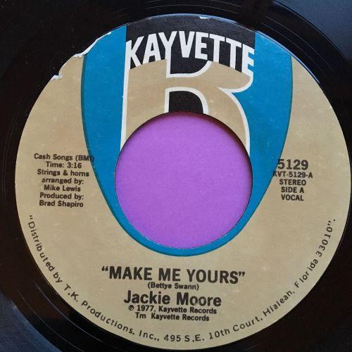 Jackie Moore-Make me yours-Kayvette E+