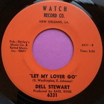 Dell Stewart-Mr Credit man/ Let my lover go-Watch E