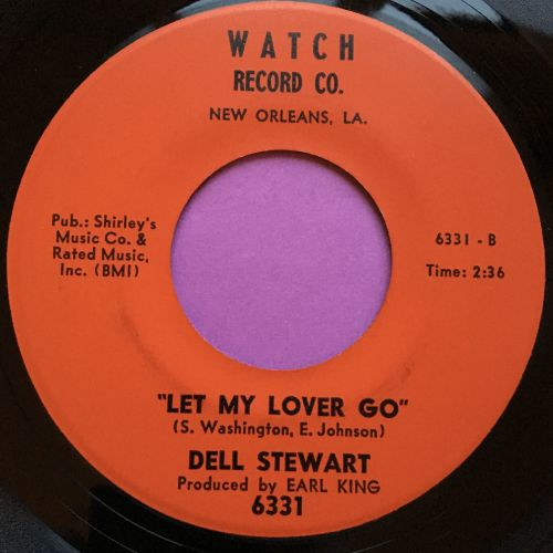 Dell Stewart-Mr Credit man/ Let my lover go-Watch E