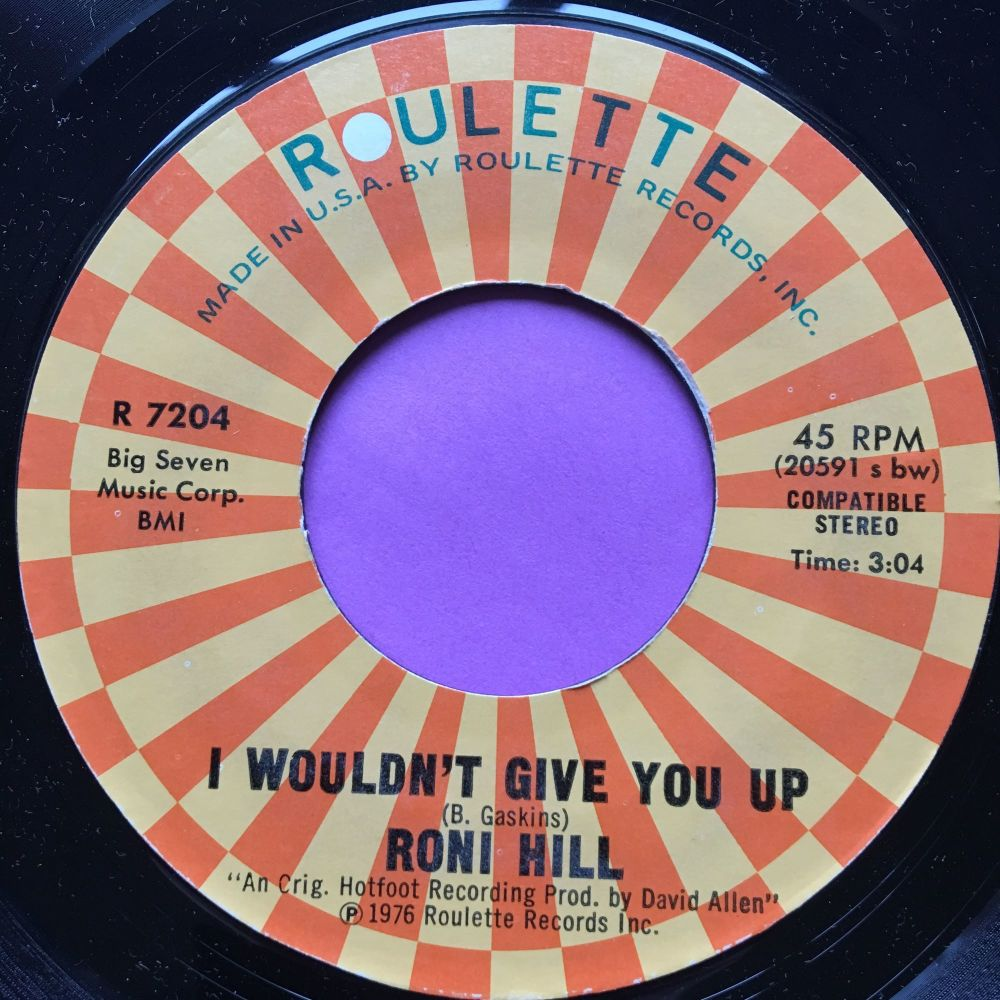 Roni Hill-I wouldn't give you up-Roulette E+