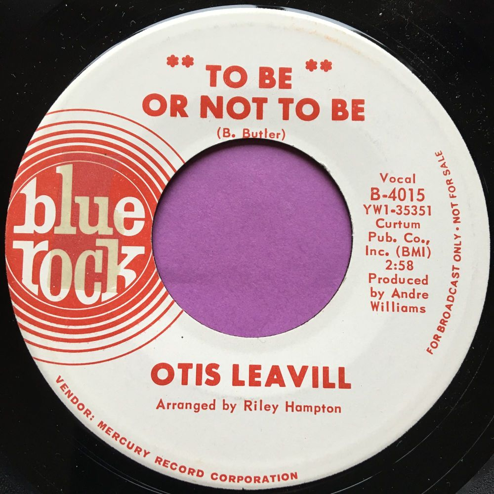 Otis Leavill-Boomerang/To be or not to be-Blue Rock M-