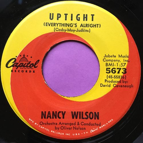 Nancy Wilson-Uptight-Capitol E+