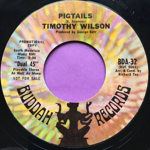 Timothy Wilson-Pigtails-Buddah E+