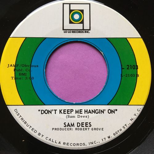 Sam Dees-Don't keep me hanging on-Lolo E+