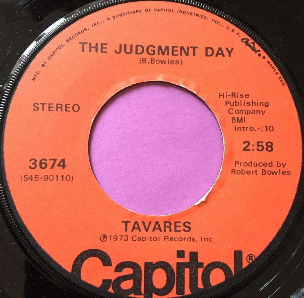 Tavares-The Judgement day-Capitol M-