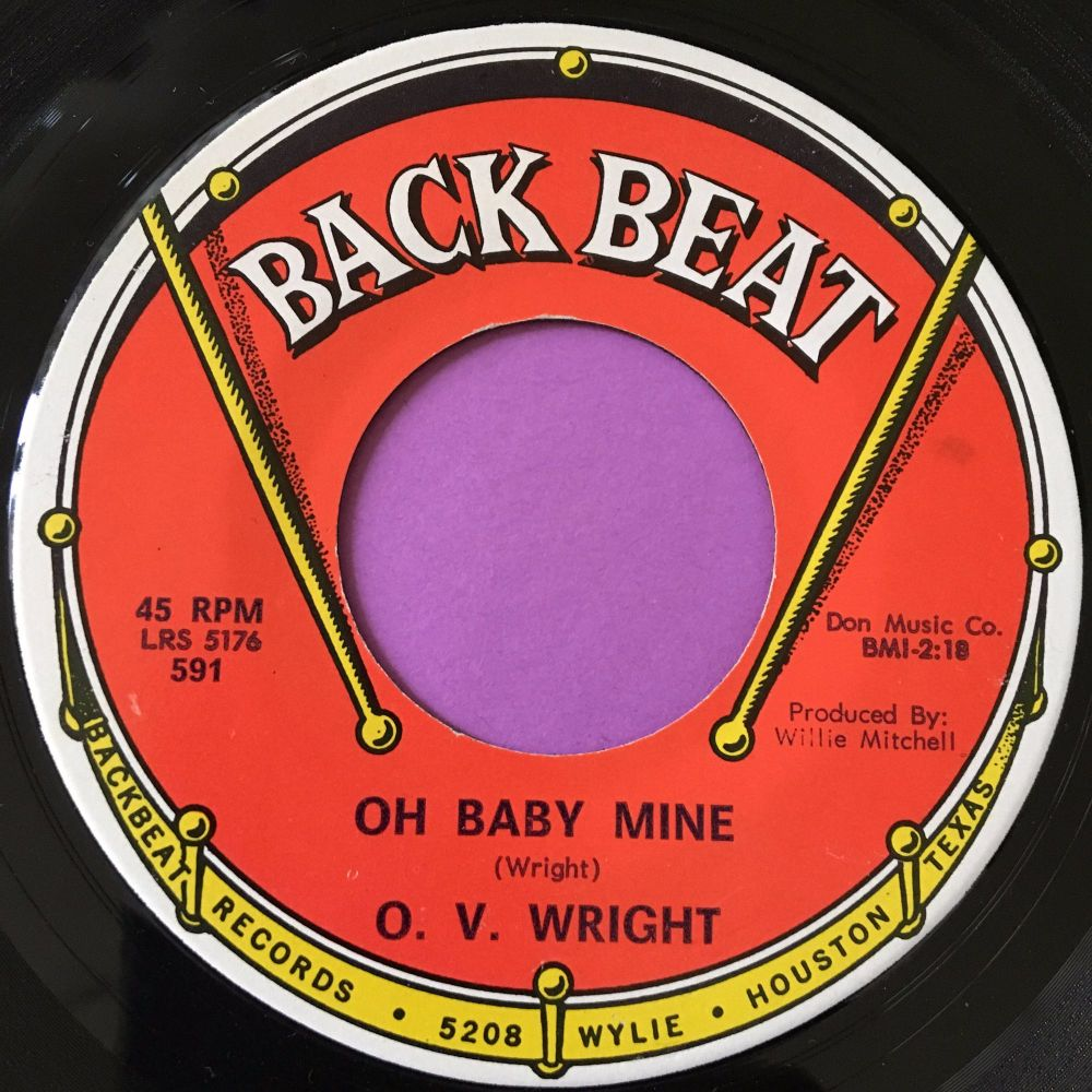 O.V Wright-Oh baby mine-Backbeat E+