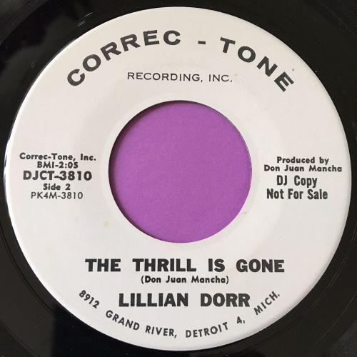 Lillian Dorr-The thrill is gone-Correc-tone WD E+