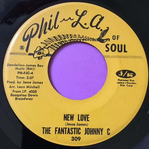 Fantastic Johnny C-New love-Phila of Soul E+