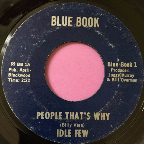 Idle Few-People that's why-Blue book E+