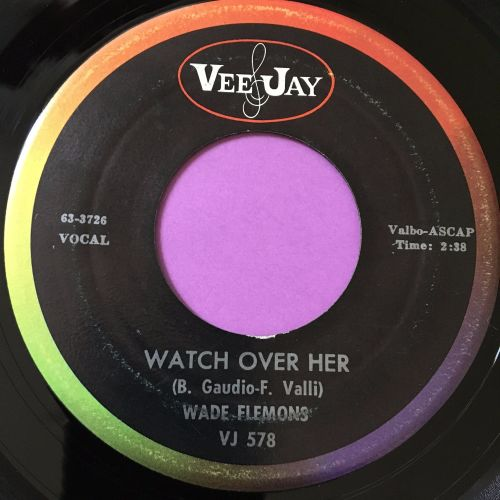 Wade Flemons-Watch over her-VJ E+