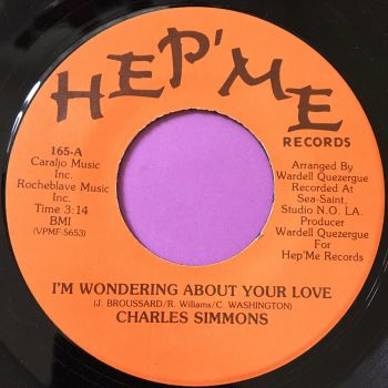 Charles Simmons-Wondering about your love-Hep'me E+