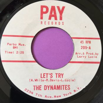 Dynamites-Let's try-Pay E