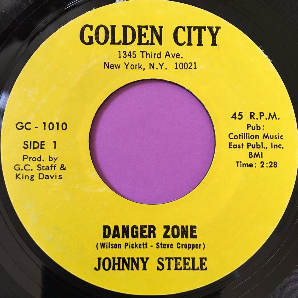 Johnny Steele-Danger zone-Golden city E+