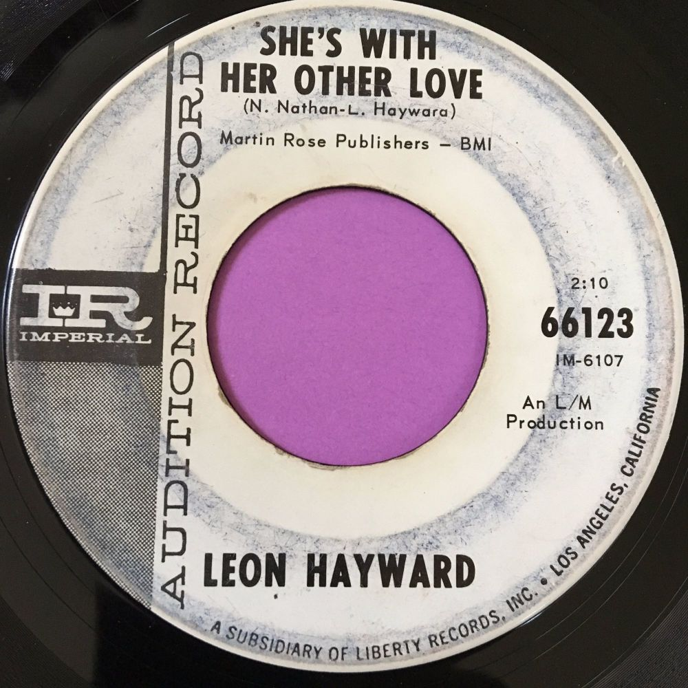 Leon Hayward-She's with her other side-Imperial WD vg+
