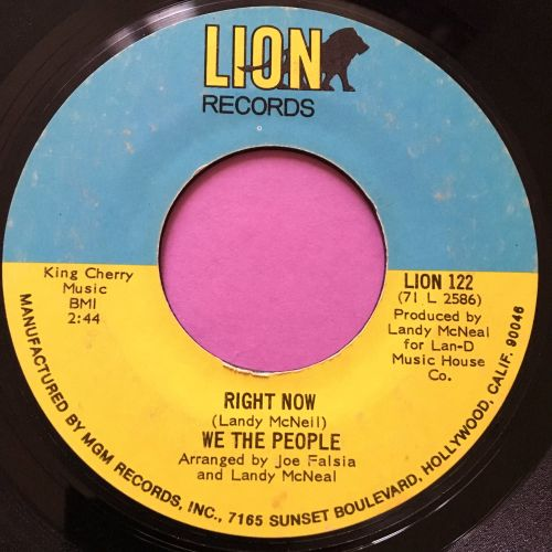 We the people-Right now-Lion E+
