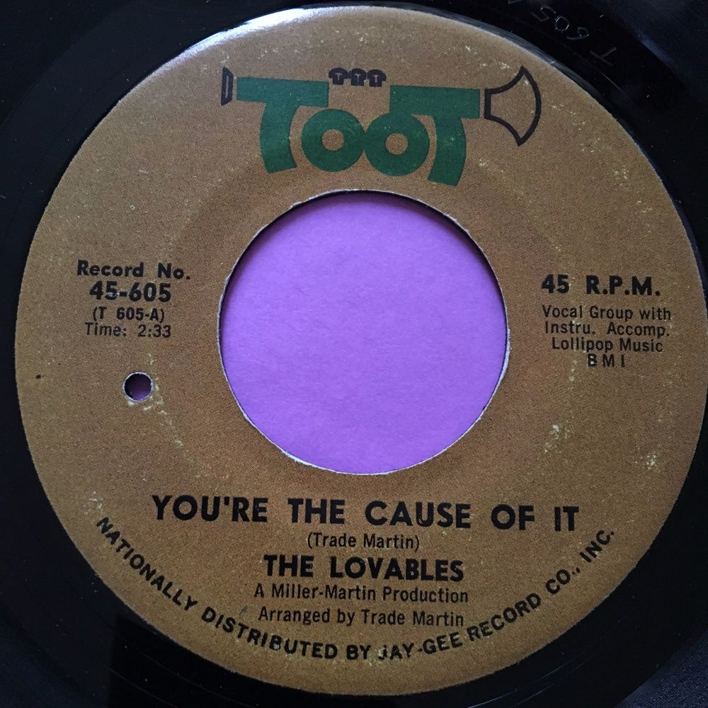 Lovables-You're the cause of it-Toot E+