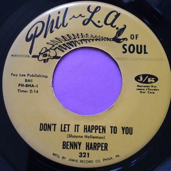 Benny Harper-Don't let it happen to you-Phila of Soul E+