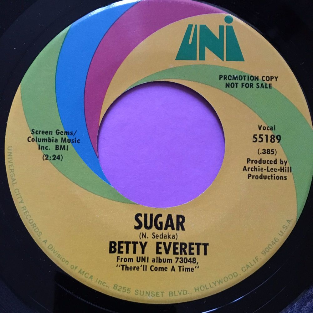 Betty Everett-Sugar-Uni E+