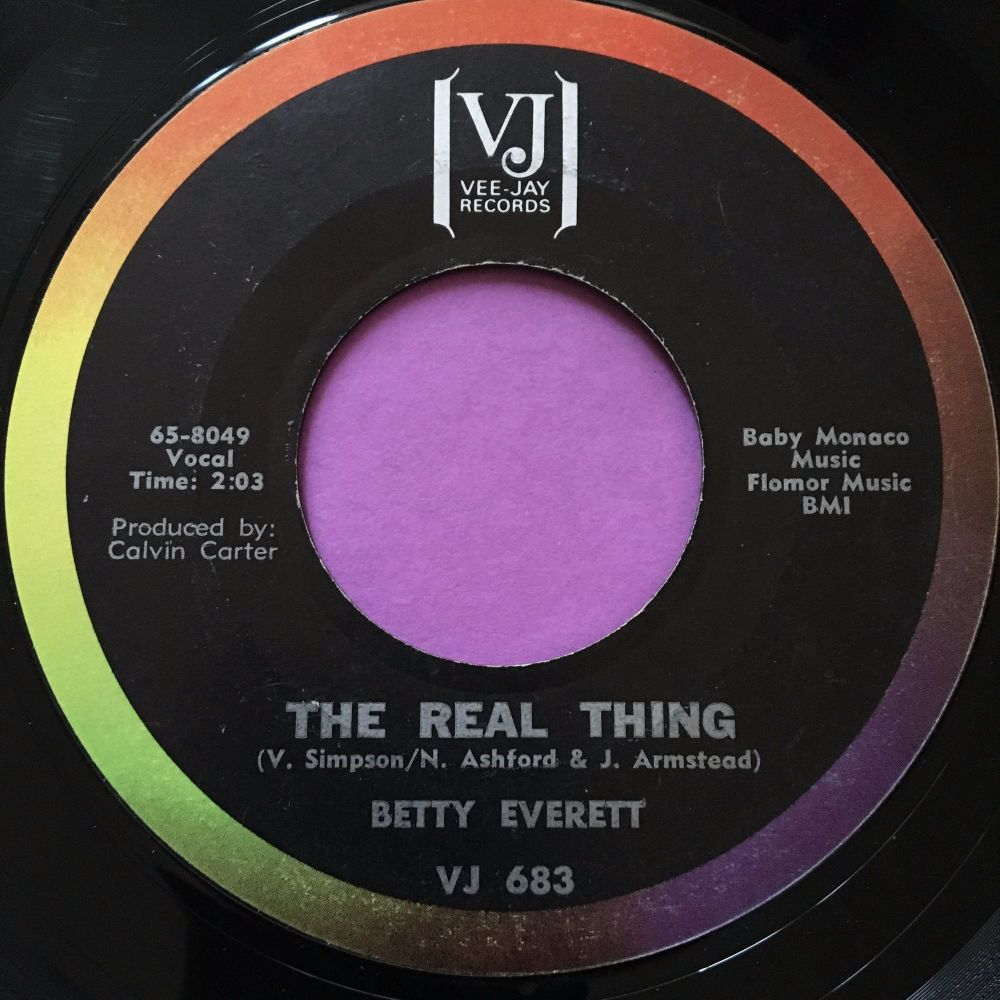 Betty Everett-The real thing-VJ E