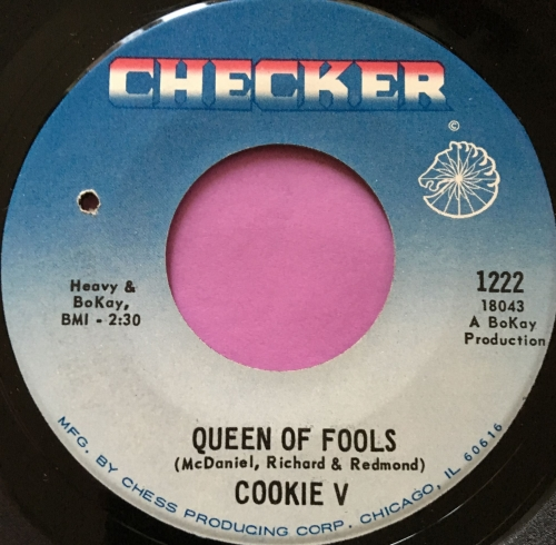 Cookie V-Queen of fools-Checker E+