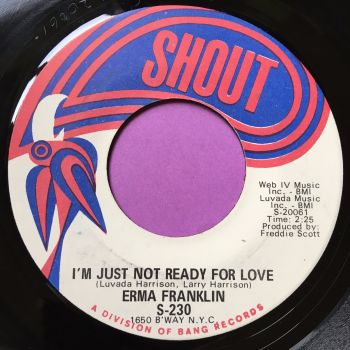 Erma Franklin-I'm just not ready for love-Shout E+