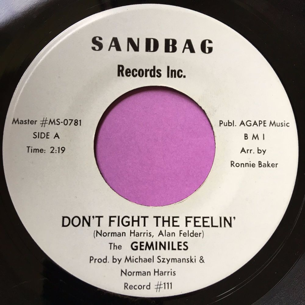 Geminiles-Don't fight the feelin'-Sandbag E