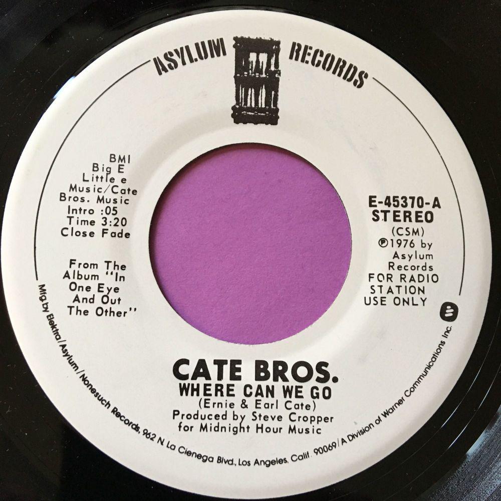 Cate Bros.-Where can we go-Asylum WD E+