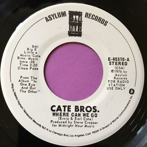 Cate Bros.-Where can we go-Asylum WD E+