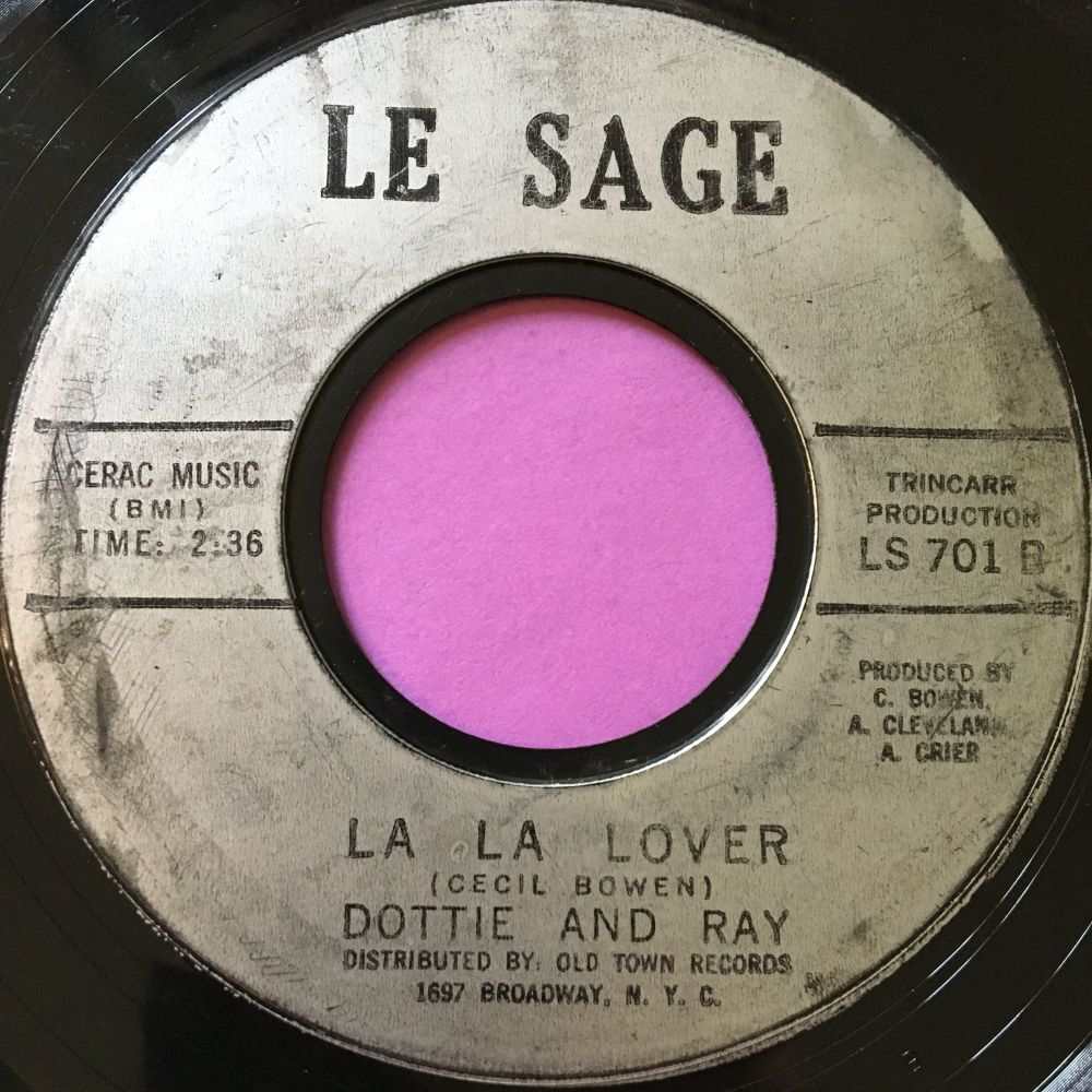 Dottie and Ray-La La Lover-Le Sage E